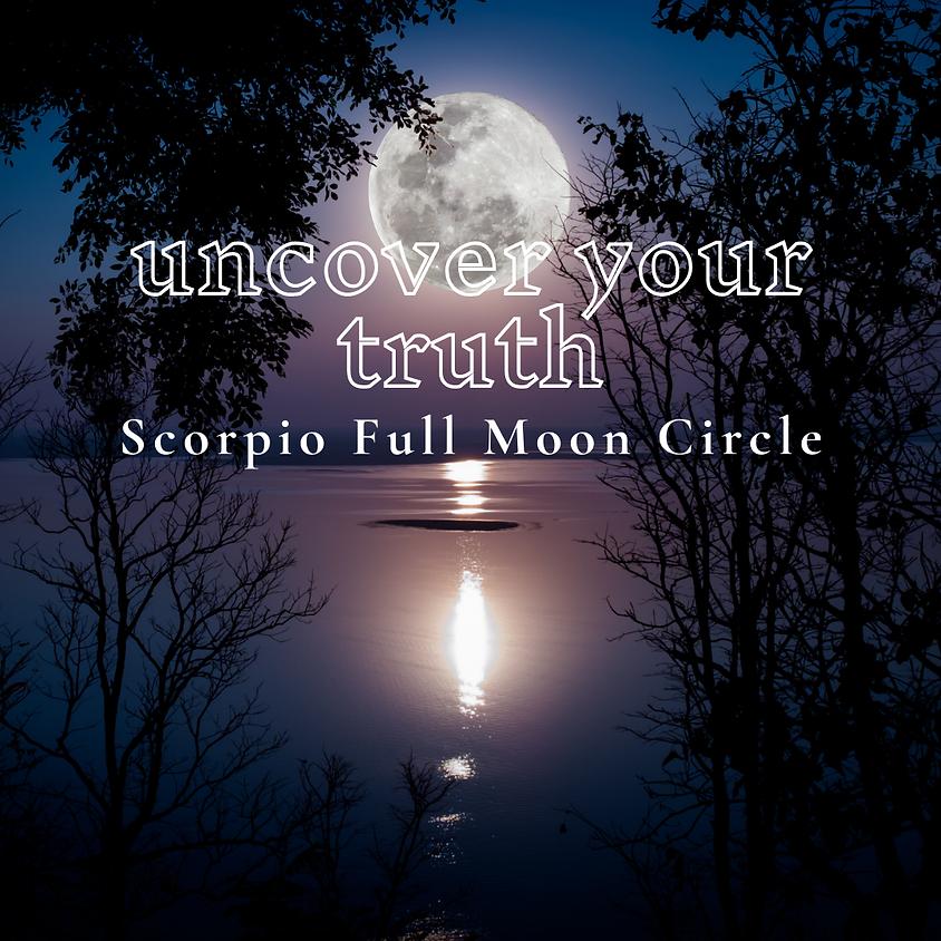 Scorpio Full Moon Circle
