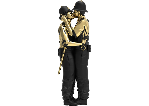 Kissing Coppers by Brandalised (Gold Rush Edition)