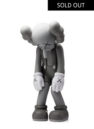 Small Lie Companion Vinyl Figure Grey