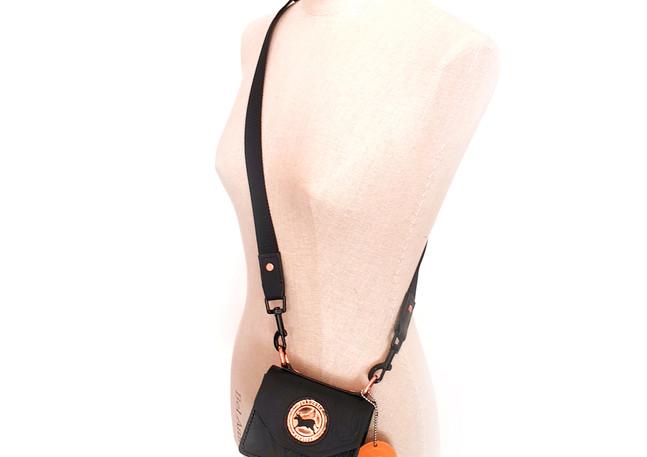 Lampeone mini black bag