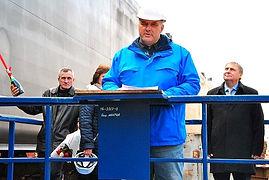 На Николаевской верфи SMG спустили на воду танкер-химовоз для голландской компании
