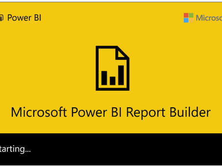 Power BI Paginated Report Builder Now Available