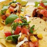 BBQ Sriracha Tacos