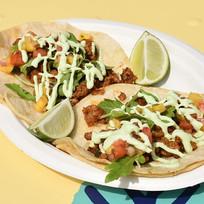 Housemade chourizo tacos
