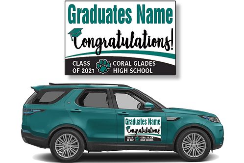 Coral Glades Magnets