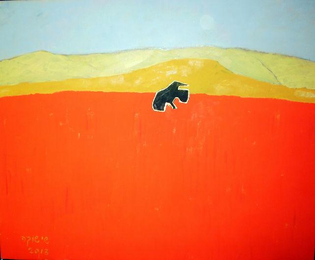 ציור מדברי של ארז רוטה