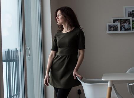 """The One that got away"" dress (+Burda pattern review)"