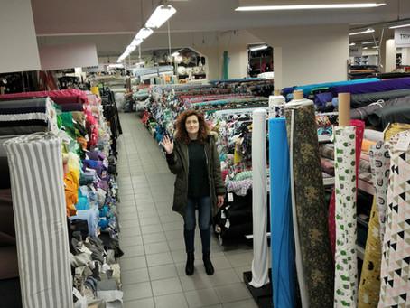 Where I shop for fabrics