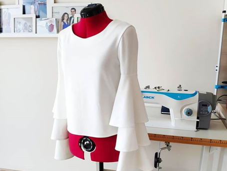 PATTERN TUTORIAL: Layered Bell Sleeve