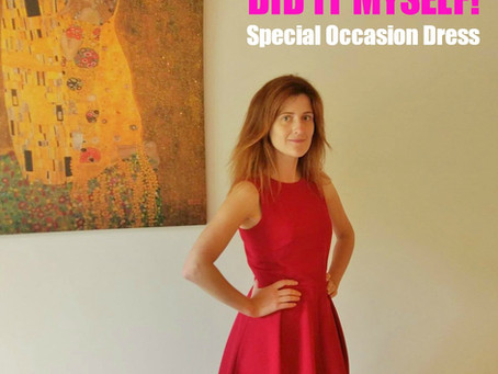 DIY Look – Special Occasion Dress (+ Pattern review)
