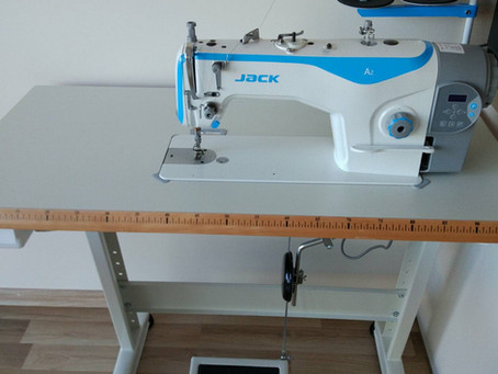 Industrial sewing machine at home (my review)