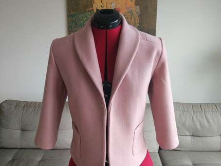 DID IT MYSELF: Rosy Jacket (+Burda pattern review)