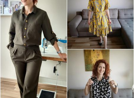 My recent Burda makes: 3 pattern reviews!