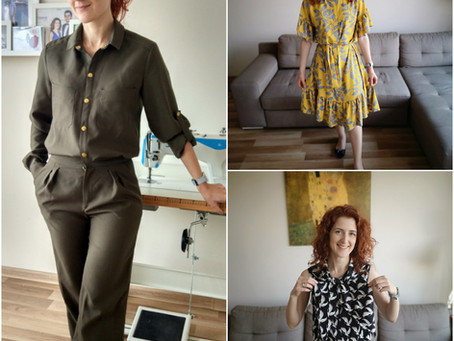 My recent Burda makes: 3 pattern reviews!