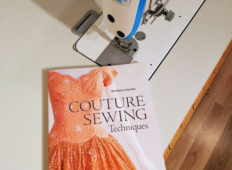 Book Review: Couture Sewing Techniques by Claire B. Shaeffer