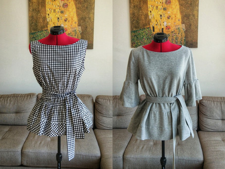 One Pattern, Two Different Looks (+Burda pattern review)