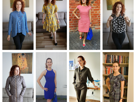 A Year with Burda: 12 patterns, 2 lessons