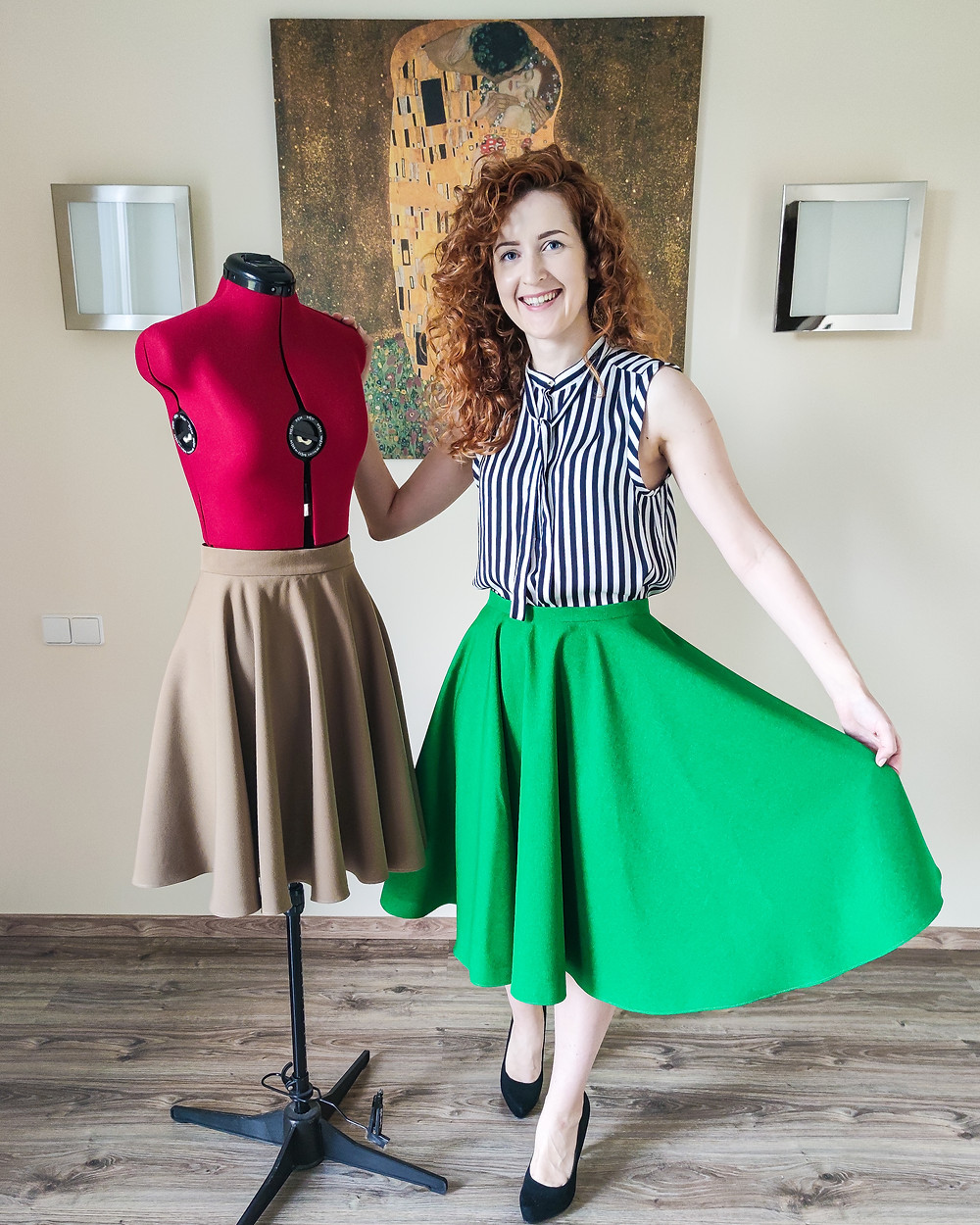 Circle Skirt Sewing Class for Beginners