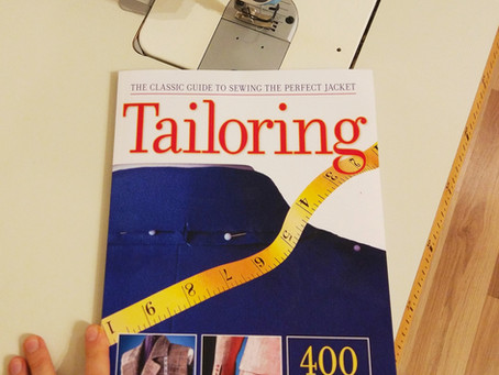 "Book review: ""Tailoring: The Classic Guide to Sewing the Perfect Jacket"""