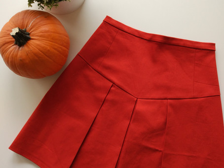 Kicking off October Makes with Pleats (+ Burda pattern review)