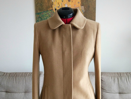 DID IT MYSELF: my first coat!