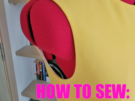HOW TO SEW: Armhole In a Sleeveless Dress (video tutorial)