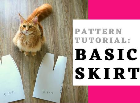 Tutorial: Basic Skirt Pattern Drafting