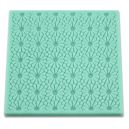 O'Creme Silicone Fondant Mold, Flower Pattern