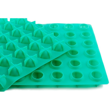 O'Creme Silicone Lollipop Mold, 42 Cavities