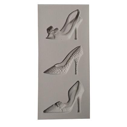 O'Creme Silicone Fondant Mold, Lady Shoes