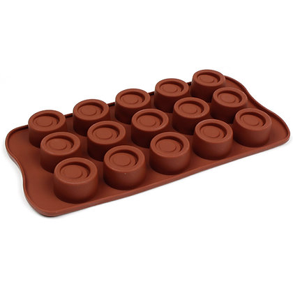 O'Creme Silicone Chocolate Mold, Ripple