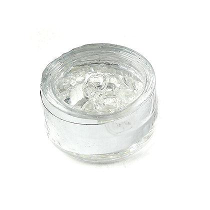 O'Crème Edible Clear Diamond Studs 6mm (51 Pieces)