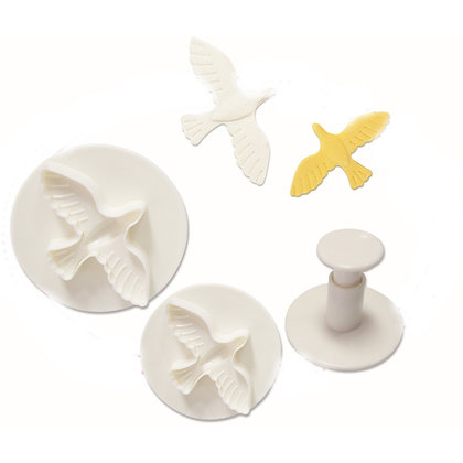 O'Creme Dove Plunger Cutter, Set of 3