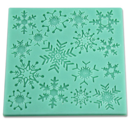 O'Creme Silicone Fondant Mold, Snowflake
