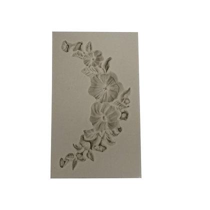 O'Creme Silicone Fondant Mold, Flower Garland