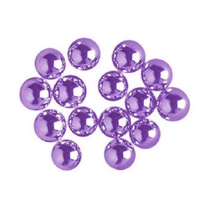 Violet Dragees 4mm