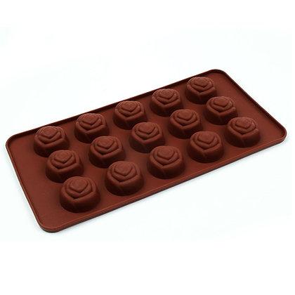 O'Creme Silicone Chocolate Mold, Rose