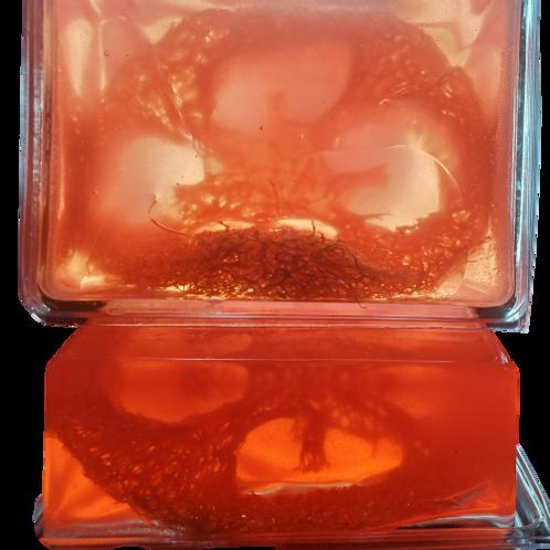 Pink Moscato Loofah Soap Bar