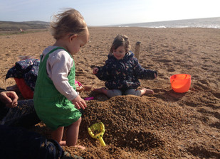 Dinosaurs, beaches and tractors