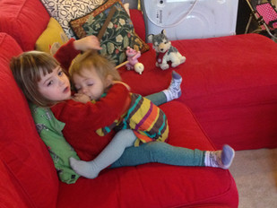 Preschool and playdoh