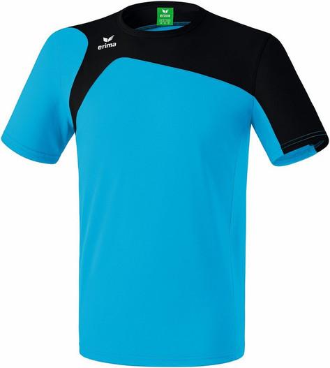 Erima Club 1900 T-Shirt - Ladies/Mens: Curacao/Black