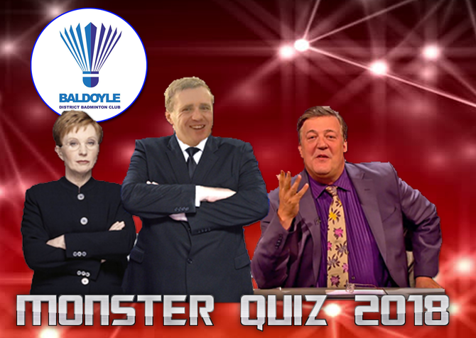 Sign Up for our Monster Quiz 2018 Fundraiser