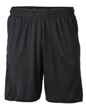 JN381-Black-Shorts GAA Longer Style