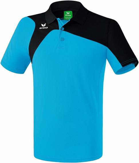 Erima Club 1900 Polo Shirt - Ladies/Mens: Curacao/Black