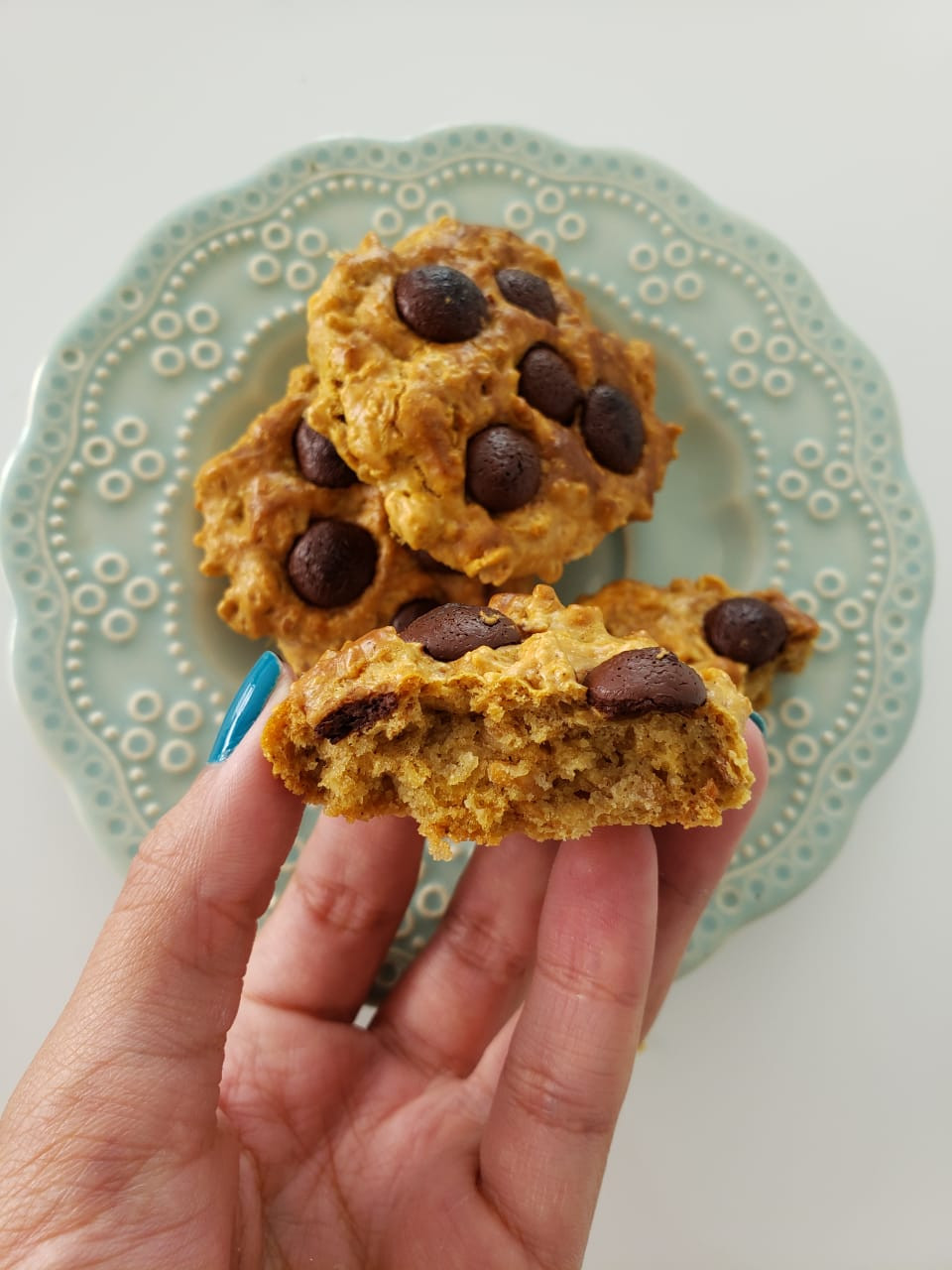 receita de cookie saudável
