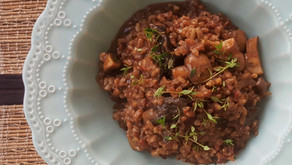 Risoto de Cogumelos - Receita de Risoto Vegano ao Funghi