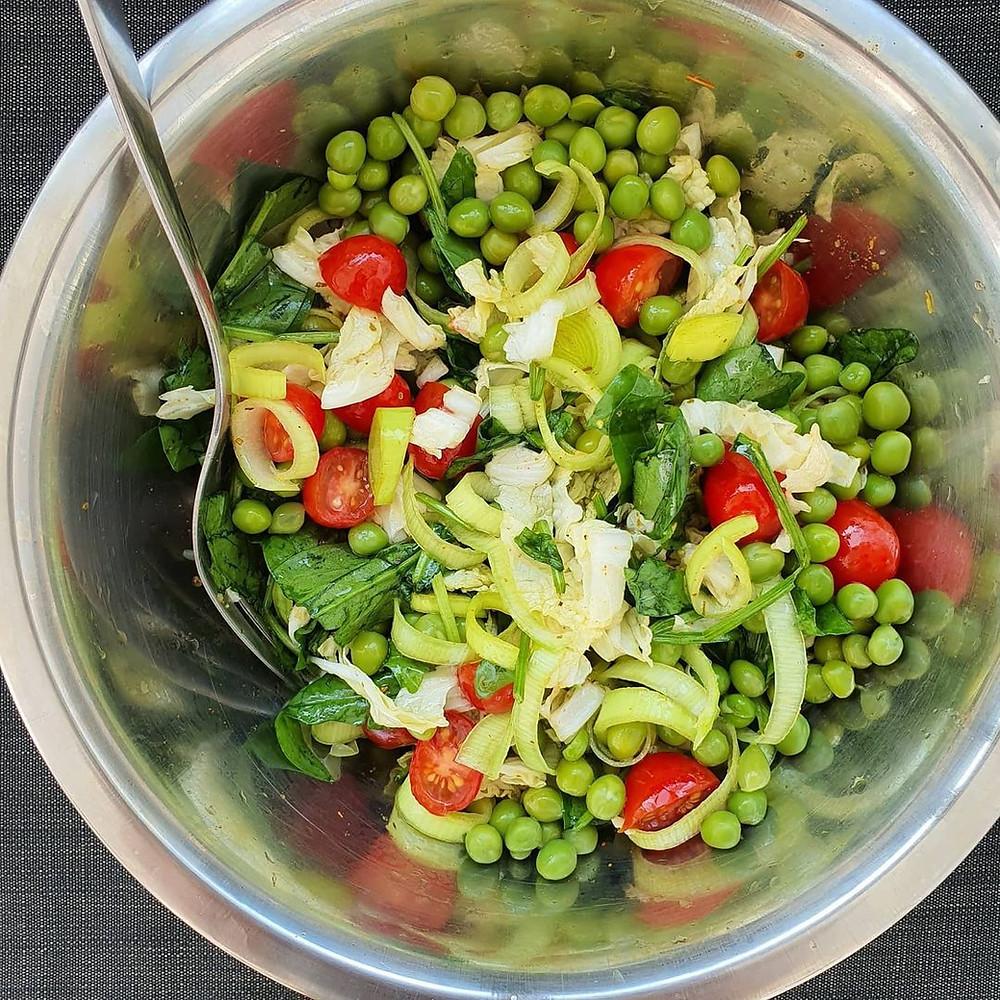 como preparar ervilha fresca