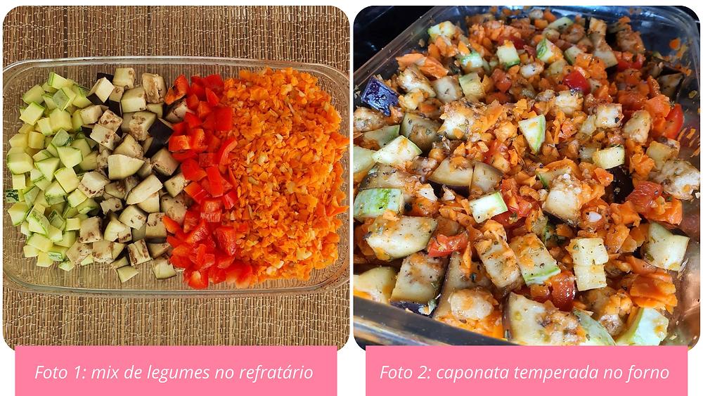 receita de caponata de legumes