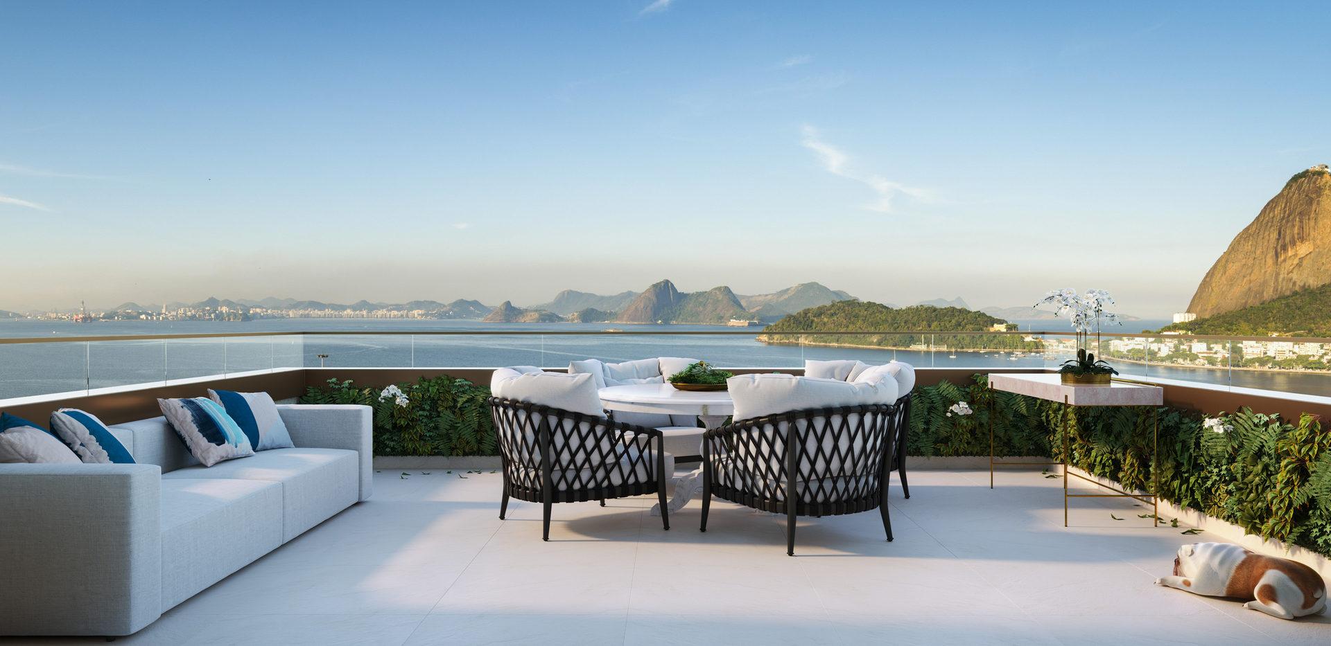 Yoo To Rio de Janeiro - Viva em um cenário de Cartão Postal!