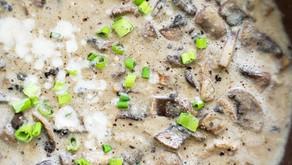 Molho Funghi Vegano - Molho de Cogumelos Vegano